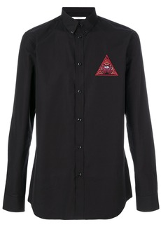 Givenchy Realize embroidered shirt - Black