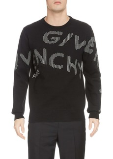 Givenchy Refracted Jacquard Crewneck Sweater