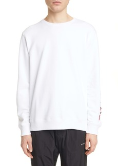 Givenchy Regular Fit Embroidered Sleeve Sweatshirt