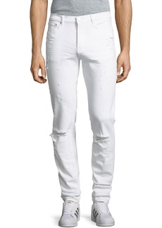 Givenchy Rico-Fit Destroyed Denim Jeans