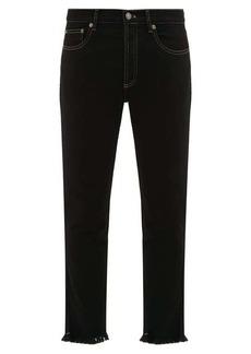 Givenchy Ripped hem slim-leg jeans