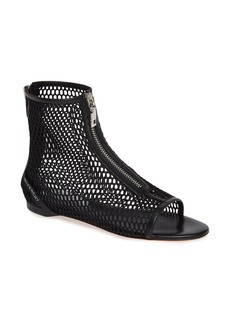 Givenchy Rivington Open Toe Mesh Bootie (Women)
