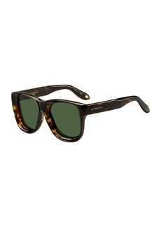 Givenchy Round Chunky Acetate Sunglasses