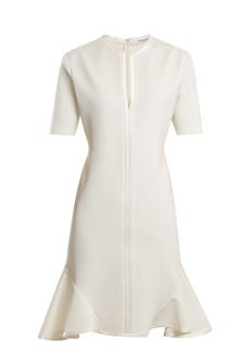 Givenchy Round-neck silk-trimmed dress