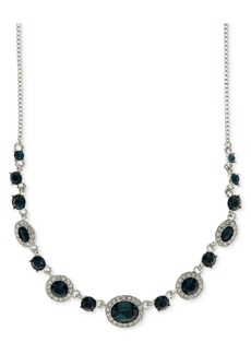 Givenchy Rounded Crystal and Pave Collar Necklace