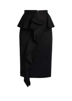 Givenchy Ruffled jersey skirt