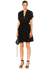 Givenchy Ruffled Silk Dress