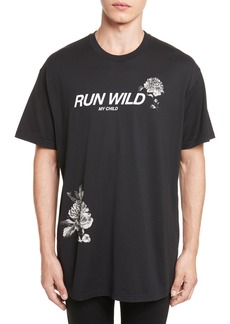 Givenchy Run Wild Graphic T-Shirt