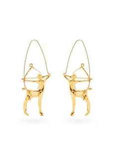 Givenchy Sagittarius zodiac hoop earrings