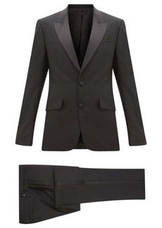 Givenchy Satin-trimmed wool-blend tuxedo