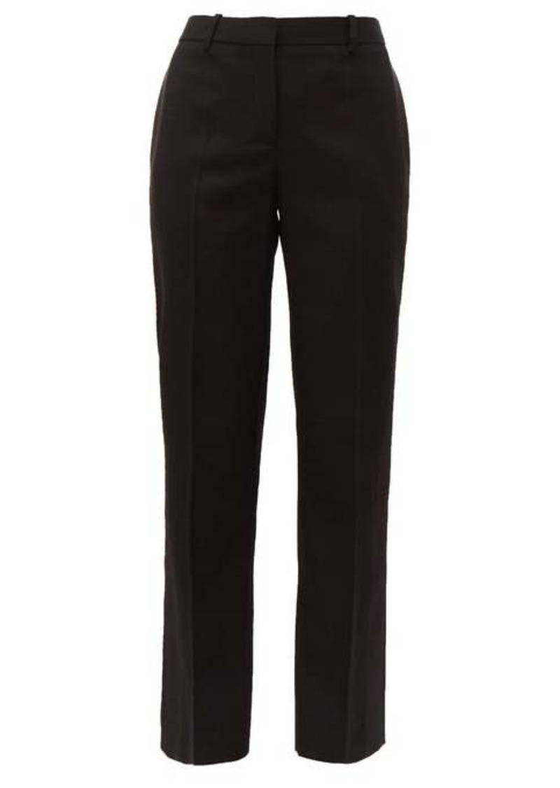 Givenchy Satin-trimmed wool-twill tuxedo trousers
