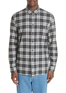 Givenchy Save Our Souls Plaid Shirt