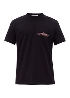 Givenchy Scorpion-print cotton T-shirt