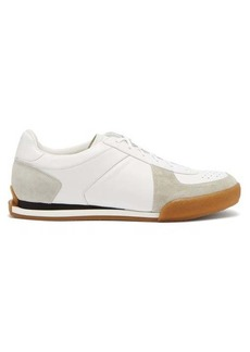 Givenchy Set 3 leather and suede trainers