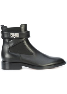 Givenchy Shark Lock ankle boots - Black