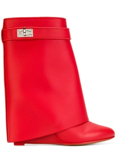 Givenchy Shark Lock boots - Red