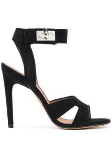 Givenchy shark lock sandals - Black
