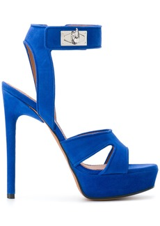 Givenchy Shark Lock sandals - Blue