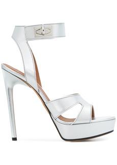 Givenchy Shark Lock sandals - Metallic