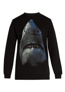Givenchy Shark-print cotton sweatshirt