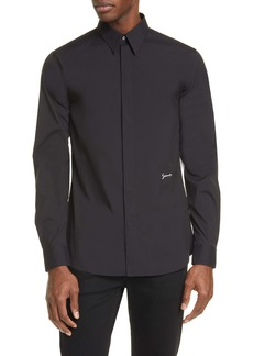 Givenchy Signature Slim Fit Button-Up Shirt