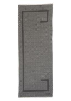 Givenchy Silk & Wool Jacquard Scarf