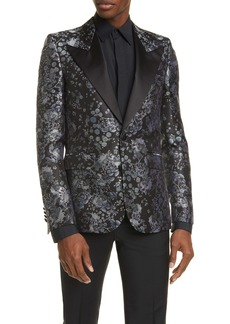 Givenchy Silk Brocade Dinner Jacket