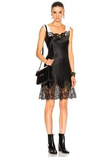 Givenchy Silk Satin Lace Dress