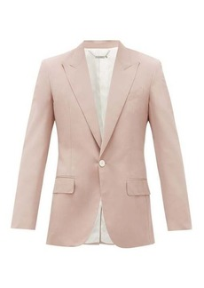 Givenchy Single-breasted faille blazer