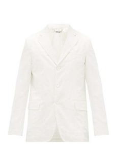 Givenchy Single-breasted triple-button cotton suit jacket