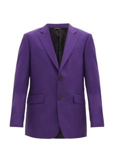 Givenchy Single-breasted wool blazer