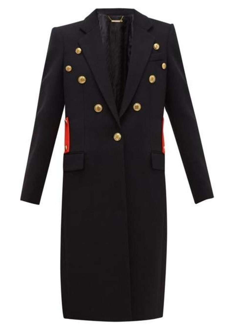 Givenchy Single-breasted wool-twill coat