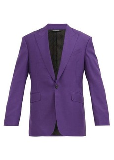 Givenchy Single-breasted wool-twill suit jacket