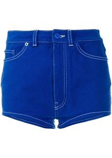 Givenchy skinny-fit shorts - Blue