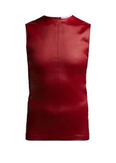 Givenchy Sleeveless jersey top