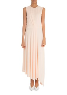 Givenchy Sleeveless Ruched Waist Gown