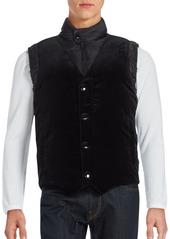 Givenchy Sleeveless Velvet Down Vest