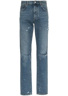 Givenchy slim-fit destroyed denim jeans