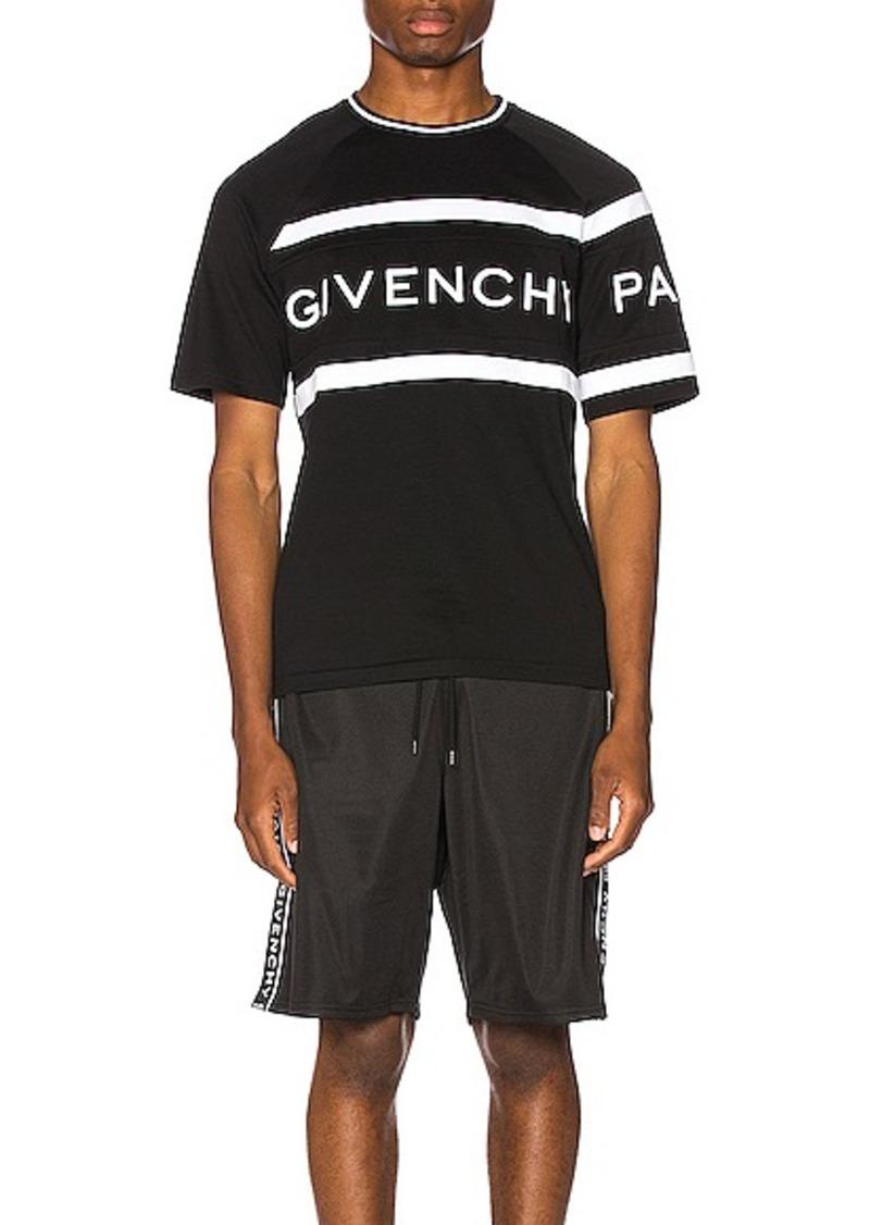 Givenchy Slim Fit Logo Band Tee