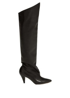 Givenchy Slouchy knee-high leather boots