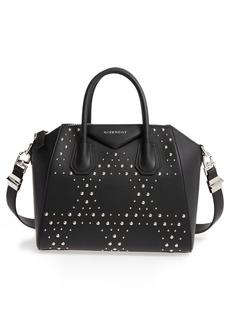 Givenchy Small Antigona Studded Leather Satchel