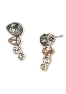 Givenchy Small Crystal Ear Crawler Earrings