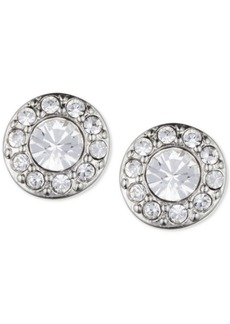 Givenchy Small Crystal Pave Stud Earrings