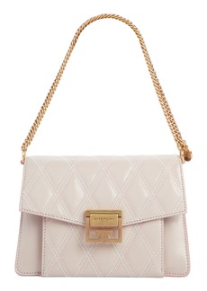 Givenchy Small GV3 Diamond Quilted Leather Crossbody Bag