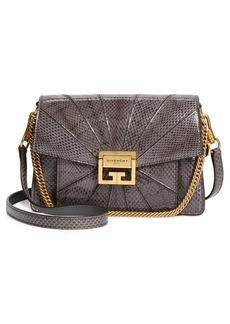 Givenchy Small Gv3 Patchwork Snakeskin Crossbody Bag