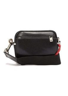 Givenchy Small MC3 logo-appliqué leather cross-body bag