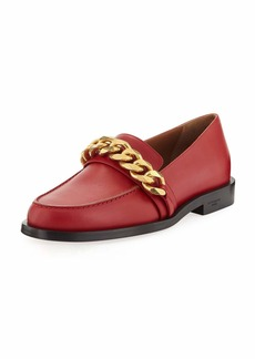 Givenchy Smooth Chain-Trim Loafer