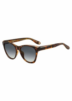 Givenchy Square Faceted Gradient Sunglasses