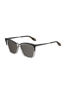 Givenchy Square Metal & Acetate Sunglasses