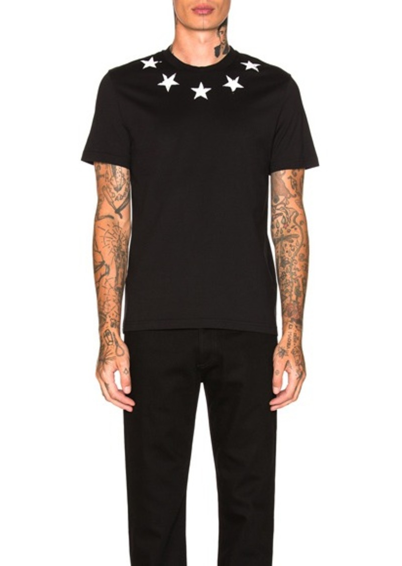 c4b44844926696 Givenchy Givenchy Star Collar Tee Now $273.00